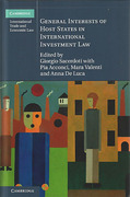 Cover of General Interests of Host States in International Investment Law