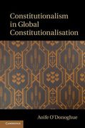 Cover of Constitutionalism in Global Constitutionalisation
