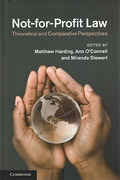 Cover of Not-for-Profit Law: Theoretical and Comparative Perspectives