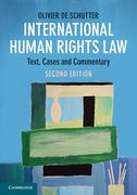 Cover of International Human Rights Law: Cases, Materials, Commentary