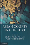 Cover of Asian Courts in Context