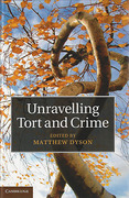 Cover of Unravelling Tort and Crime