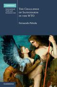 Cover of The Challenge of Safeguards in the WTO