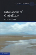 Cover of Intimations of Global Law