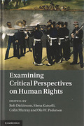 Cover of Examining Critical Perspectives on Human Rights