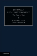 Cover of European Legal Development: The Case of Tort
