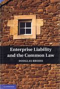 Cover of Enterprise Liability and the Common Law