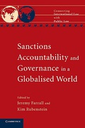 Cover of Sanctions, Accountability and Governance in a Globalised World