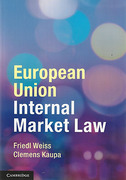Cover of European Union Internal Market Law