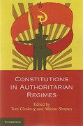 Cover of Constitutions in Authoritarian Regimes
