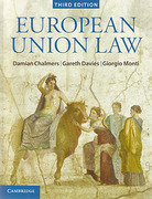 Cover of European Union Law: Text and Material