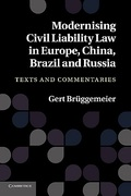 Cover of Modernising Civil Liability Law in Europe, China, Brazil and Russia: Texts and Commentaries