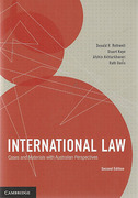 Cover of International Law: Cases and Materials with Australian Perspectives