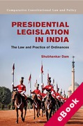 Cover of Presidential Legislation in India: The Law and Practice of Ordinances  (eBook)