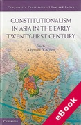 Cover of Constitutionalism in Asia in the Early Twenty-first Century  (eBook)