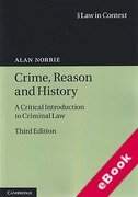 Cover of Law in Context: Crime, Reason and History: A Critical Introduction to Criminal Law (eBook)