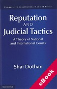 Cover of Reputation and Judicial Tactics: A Theory of National and International Courts (eBook)