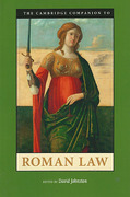 Cover of The Cambridge Companion to Roman Law