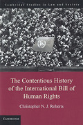 Cover of The Contentious History of the International Bill of Human Rights