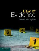 Cover of Law of Evidence