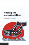Cover of Whaling and International Law
