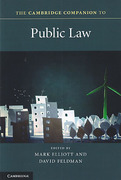 Cover of The Cambridge Companion to Public Law