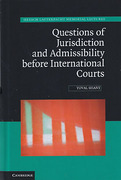 Cover of Questions of Jurisdiction and Admissibility Before International Courts