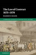 Cover of The Law of Contract 1670-1870