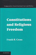 Cover of Constitutions and Religious Freedom