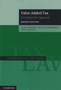 Cover of Value Added Tax: A Comparative Approach