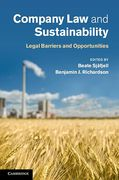 Cover of Company Law and Sustainability: Legal Barriers and Opportunities