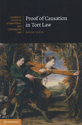 Cover of Proof of Causation in Tort Law