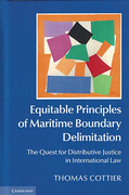 Cover of Equitable Principles of Maritime Boundary Delimitation: The Quest for Distributive Justice in International Law