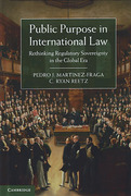 Cover of Public Purpose in International Law: Rethinking Regulatory Sovereignty in the Global Era