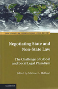 Cover of Negotiating State and Non-State Law: The Challenge of Global and Local Legal Pluralism