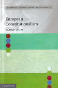Cover of European Constitutionalism