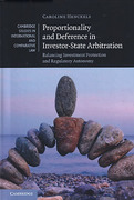 Cover of Proportionality and Deference in Investor-State Arbitration