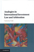 Cover of Analogies in International Investment Law and Arbitration