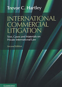 Cover of International Commercial Litigation: Text, Cases and Materials on Private International Law