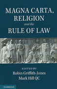 Cover of Magna Carta, Religion and the Rule of Law
