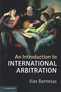 Cover of An Introduction to International Arbitration