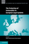 Cover of The Protection of Immovables in European Legal Systems