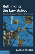 Cover of Rethinking the Law School: Education, Research, Outreach and Governance