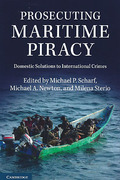 Cover of Prosecuting Maritime Piracy: Domestic Solutions to International Crimes