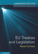Cover of EU Treaties and Legislation