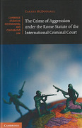 Cover of The Crime of Aggression Under the Rome Statute of the International Criminal Court