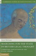 Cover of Searching for the State in British Legal Thought: Competing Conceptions of the Public Sphere