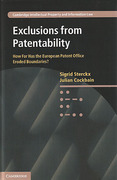 Cover of Exclusions from Patentability: How Far Has the European Patent Office Eroded Boundaries