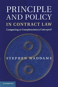 Cover of Principle and Policy in Contract Law: Competing or Complementary Concepts?