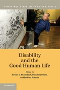 Cover of Disability and the Good Human Life